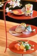 日本料理「青柳」春の限定メニュー、和のアフタヌーンティーや