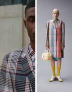 トム ブラウンよりマドラスチェック柄の限定スーツやバッグ - 伊勢丹新宿で発売