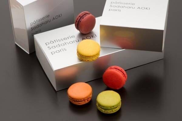 サダハル・アオキのホワイトデー、マカロン×ショコラを組み合わせた限定スイーツ「ショコロン」など