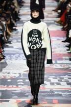 ディオール 2018-19年秋冬コレクション -  自由を主張しファッションを心から楽しもう