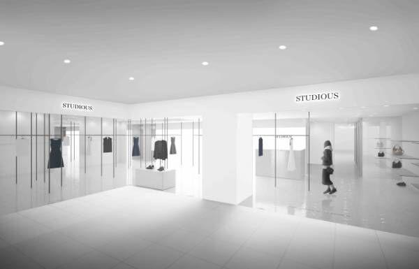 ステュディオスが池袋にウィメンズ&メンズ2店舗オープン、ビューティフルピープル限定ストアも