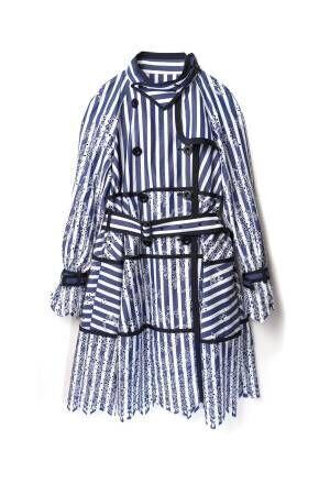 sacai、伊勢丹新宿店がリフレッシュオープン、コートやスカートなど限定アイテム発売