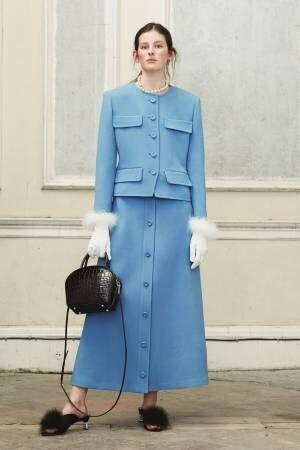 マルベリー 2018-19年秋冬コレクション - 英国の淑女は開放的な時間もお好み
