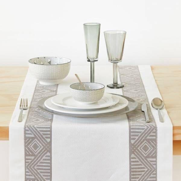 ZARA HOMEの新作テーブルウェア、幾何学模様のボウルやタイガーのナプキンリング