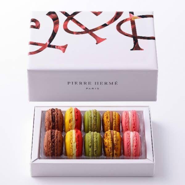 ピエール・エルメ・パリのホワイトデー、日本初上陸ジャスミン風味のマカロンやハート型ケーキ
