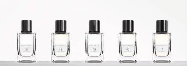 バナナ・リパブリックのユニセックス香水「アイコン・コレクション」ブランドの変遷を追う5つの香り