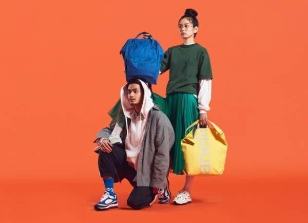 """アネロの18春夏新作バッグ - """"口金シリーズ""""の新デザイン、90'sやスポーツスタイルから着想"""