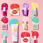 資生堂「アイスクリームパーラー コスメティックス」アイスモチーフのリップカードやネイルが誕生