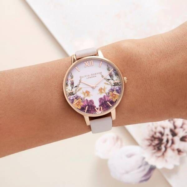 英フラワーウォッチのオリビア・バートンから「桜」をモチーフにした新作時計