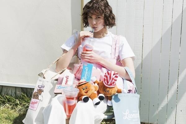 ローリーズファーム×ハワイ老舗ベーカリー「レナーズ・ベーカリー」海の色を表現したバッグ