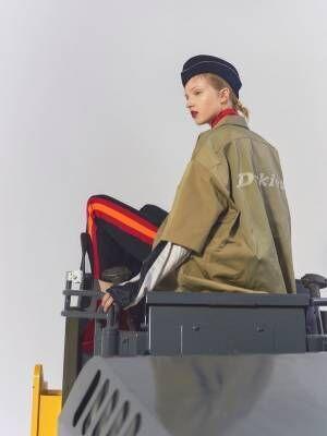 ディッキーズ×ナナナナサーカ、メンズライクなワークジャケット&USミリタリー風ワークパンツ
