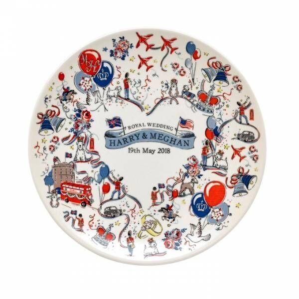 キャス キッドソンの限定アイテム、英王室・ヘンリー王子のウェディングを祝う食器やトートバッグ
