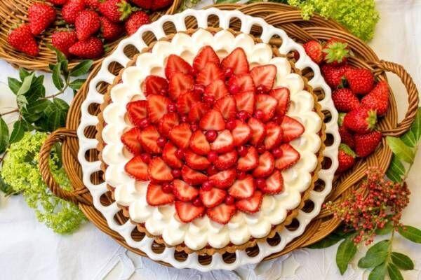 キル フェ ボン「イチゴとホワイトチョコクリームのタルト」甘酸っぱい苺×濃厚クリームのハーモニー