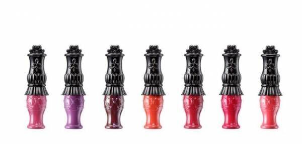 アナ スイの2018年夏コスメ - 究極マットなリキッドリップ&弾けるような輝きのラメネイル