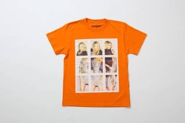 プレイボーイ×ジャーナル スタンダード レリューム、グラビア写真を重ねたプリントシャツなど