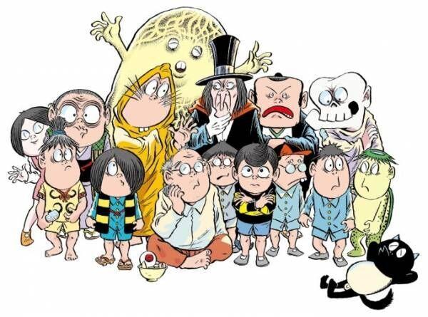 「追悼水木しげる ゲゲゲの人生展」松坂屋名古屋店で開催、少年期の習作から近年の原画まで約390点