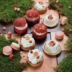 フレデリック・カッセルの4月限定スイーツ、野イチゴ香るマスカルポーネ&カスタードのクランブルシュー