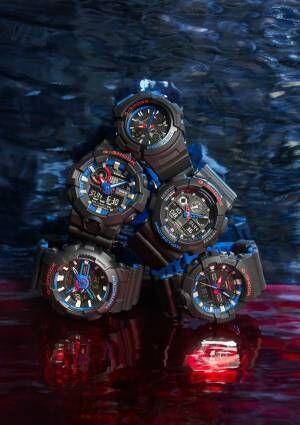 G-SHOCKの新作腕時計 - ブラック×トリコロールの新デザインを5型のモデルで
