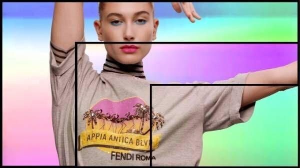 フェンディ新作Tシャツ「ポップツアー」ヤシの木のビーズ刺繍&ローマ各所の名称にちなんだ6種