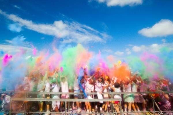 ランニングイベント「Color Me Rad」全国4ヶ所で、カラーパウダーやジェルを全身に浴びてラン