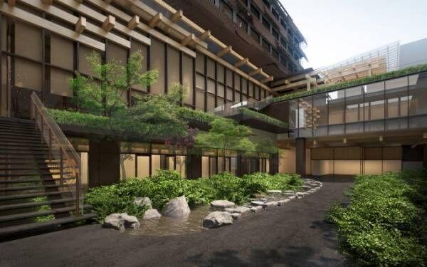 京都・新風館跡地にアジア初進出「エースホテル」など新複合施設オープン、建築デザインは隈研吾