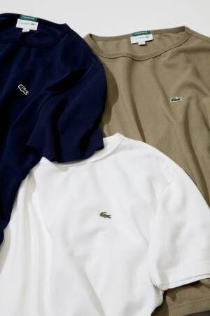 ラコステ×ビーミング by ビームスのTシャツ、ビッグシルエット&新素材で快適な着心地