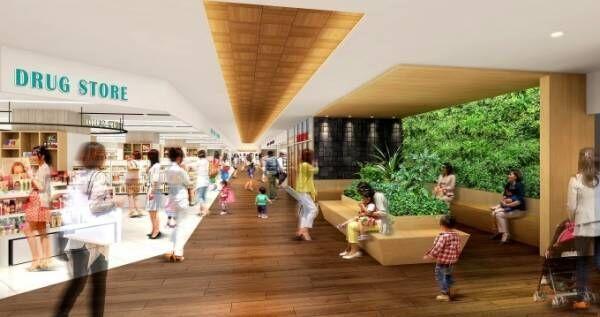 福岡の商業施設・大橋西鉄名店街が初の全面リニューアル - スターバックスやカルディなど新5店舗