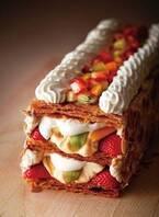 キハチ青山本店、5種のフルーツ&さくさくパイ生地「エリザベスパイ」人気ロールケーキがパイに