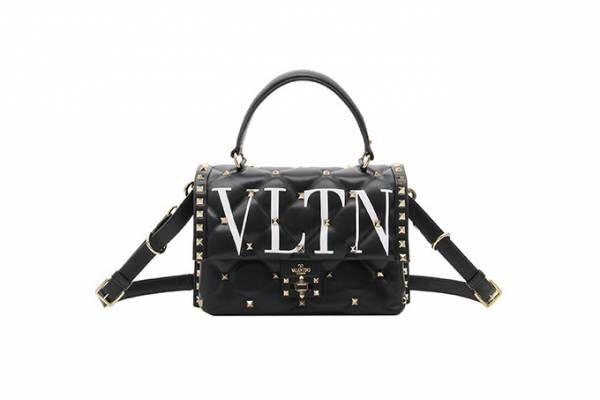 ヴァレンティノ新作バッグ、キルティング模様にスタッズを飾って - VLTNロゴやVモチーフも