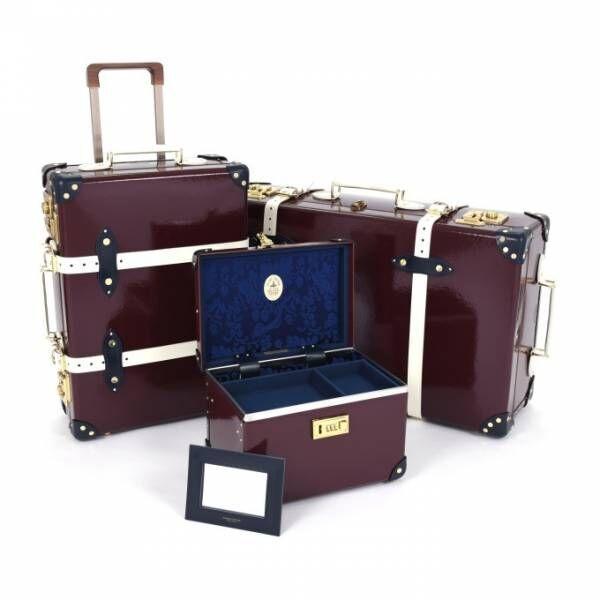 グローブ・トロッター×英国老舗ホテル、ロイヤルベビー誕生を記念したトロリー&スーツケース
