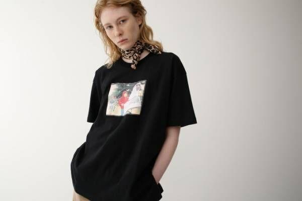 マウジースタジオウェア×E.T.、映画の名シーンを描いたプリントTシャツ発売