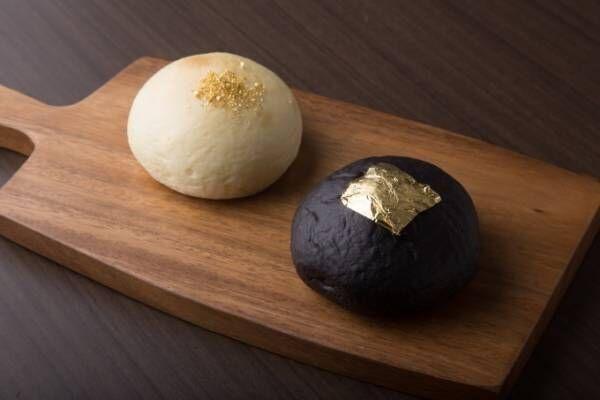 老舗はちみつ店が手掛ける「クリームパン専門店 キンイロ」京都三条に誕生、金と黒の贅沢クリームパン