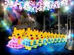 「ピカチュウ大量発生チュウ!」ライゾマティクスのデジタルアートを起用した夜の海上ショー、横浜で