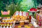 ピーターラビットのデザートブッフェ、うさぎの耳付きケーキやスコーン - ヒルトン名古屋で