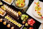 品川プリンスホテル最上階ラウンジでメロンスイーツブッフェ開催