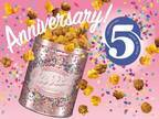ギャレット ポップコーンが日本上陸5周年パッケージで - 限定フレーバー「ブラウニー」も復活