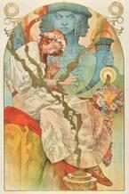 「ミュシャ展」静岡市美術館で開催 - アール・ヌーヴォーの旗手、初期から晩年まで約250点