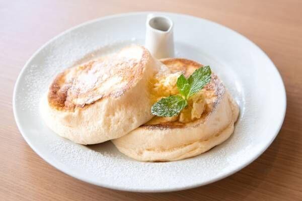 """「シルキーパンケーキ」バンクス渋谷""""ふわとろ""""食感の人気メニューが進化、史上最高なめらか食感へ"""
