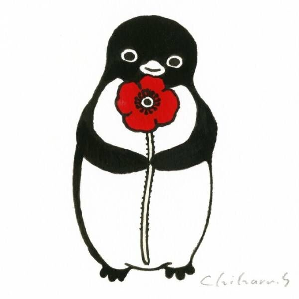 Suicaペンギンの坂崎千春による個展「ペンギン百態Ⅲ 色とりどり」伊勢丹新宿店本館で開催