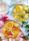 パティスリー キハチの新作フルーツポンチ - バニラ香る果物たっぷり夏限定デザート2種
