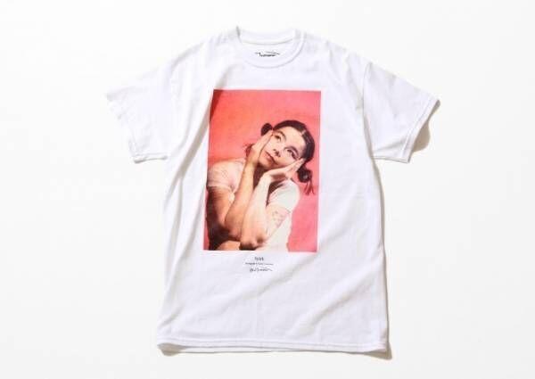 ビョーク(Björk)のプリントT&ノースリーブトップス、ジャーナルスタンダード全店で発売