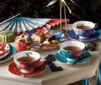 ウェッジウッドの新作「ペオニア ブラッシュ」ピオニーが主役&オリエンタルな色調の食器