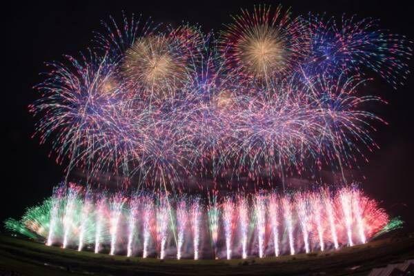 日本を代表する花火師が集結「東京花火大祭」お台場で12,000発打ち上げ、史上初のコラボ花火も