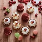フレデリック・カッセルの新作スイーツ - 流れ星のチーズケーキ&チェリーのタルトやシュークリーム