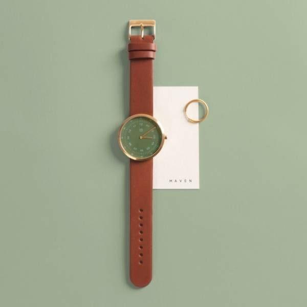 腕時計ブランド「マベンウォッチズ」日本初上陸、文字盤に大理石を使用したモデルなど