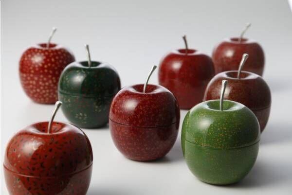 日本発の高品質なプロダクトが日本橋三越本店に集結 - 漆塗りのりんごやパステルカラーのこけしなど