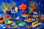 京王プラザホテルで「プリンセスマーメイドと楽しむスイーツブッフェ」童話『人魚姫』をテーマに