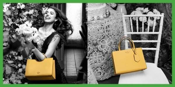 ケイト・スペードの人気バッグ「サム(sam)」復刻、花模様やカラフルレザーなど