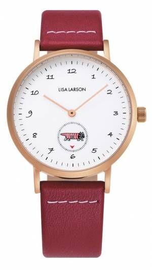 リサ・ラーソン新作ウォッチ、マイキーやイギーがくるくる回る腕時計 - ノルディックフィーリングで