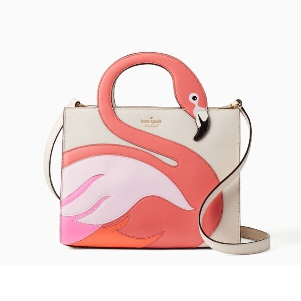 ケイト・スペード夏の新作 - パイナップルそっくりのバッグ&ピンクフラミンゴのハンドバッグ